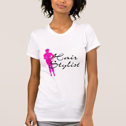 Hair Stylist (Pink) Tees T-Shirt, Hoodie, Sweatshirt