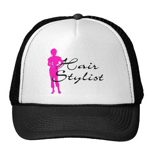 Hair Stylist (Pink) Trucker Hat