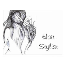 artsprojekt, hair, stylist, salon, hairstylist, beautician, hairstyle, spa, modern, business card, stylists, beauty, custom, for, hairstylists, postcards, fashion, occupations, dresser, consultant, professional, hairdresser, colorist, barber, shop, glamour, style, cosmetology, cosmetologist, Cartão postal com design gráfico personalizado