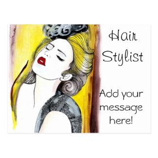 Hair Stylist Post Cards