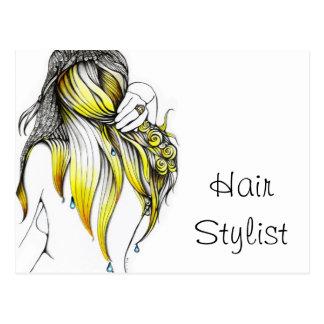 Hair Stylist Postcards