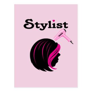 Hair Stylist Postcard