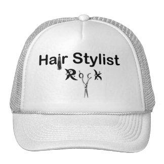 hair stylist rock hat