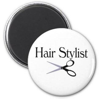 Hair Stylist Scissors 2 Inch Round Magnet