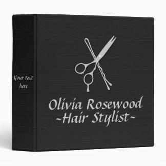 Hair Stylist Scissors Bobby Pin Hair Dresser Binder