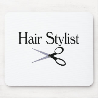 Hair Stylist Scissors Mouse Pad
