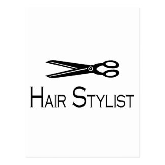 Hair Stylist (Scissors) Postcard