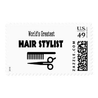 Hair Stylist Stamp
