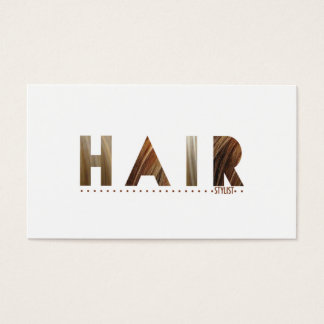 Hair Stylist (Today's Best Award) Business Card