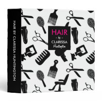 Hair Stylist Tools Pattern Binder