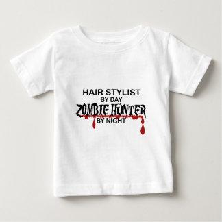 Hair Stylist Zombie Hunter T Shirts