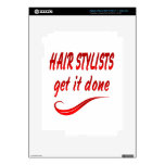 Hair Stylists Get It Done Skin For iPad 3