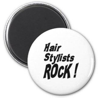 Hair Stylists Rock! Magnet