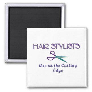 Hair Sytlists Cutting Edge Magnet