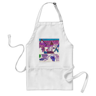 Hairball Alley Adult Apron