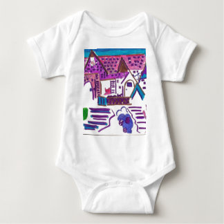 Hairball Alley Baby Bodysuit