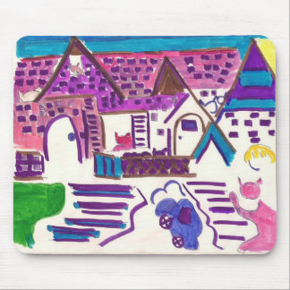 Hairball Alley Mouse Pad