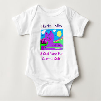 Hairball Alley -MTMC Series Baby Bodysuit