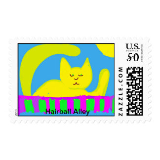 Hairball Alley postage stamps
