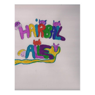 Hairball Alley Postcard