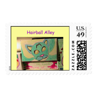 Hairball Alley - The Beginning Stamps