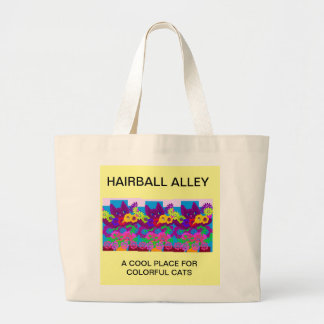 HAIRBALL ALLEY TOTE BAG