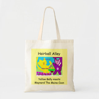 Hairball Alley Tote Budget Tote Bag