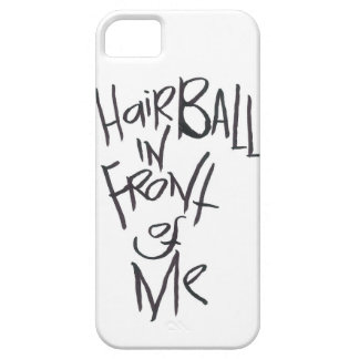 Hairball In Front Of Me iPhone SE/5/5s Case