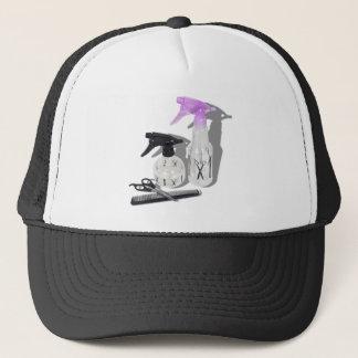 HaircutSprayBottle060910Shadows Trucker Hat