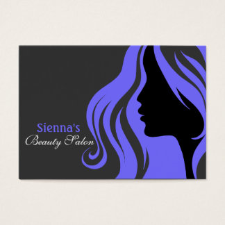 Hairdresser Appointment Card (Light Slate Blue)