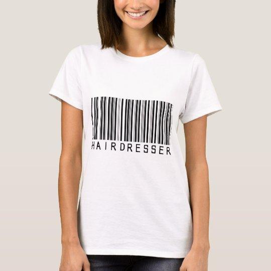 Hairdresser Bar Code T-Shirt