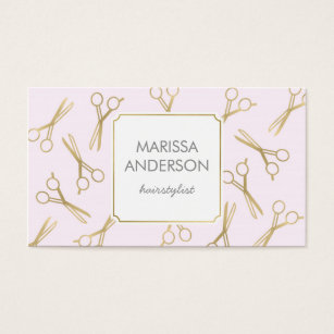 Hairdresser business cards templates zazzle hairdresser business cards hairstylist makeup business card colourmoves Image collections