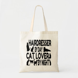 Hairdresser by Day Cat Lover by Night Tote Bag