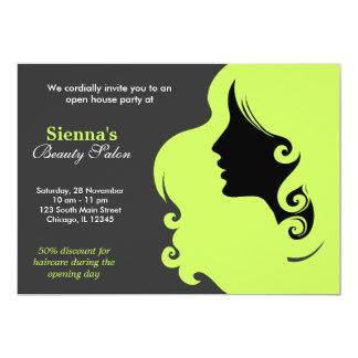 Hairdresser (Dark Olive Green) Card