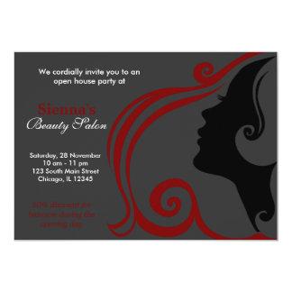 Hairdresser (Dark Red) Cards