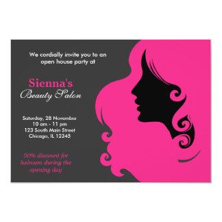 Hairdresser (Deep Pink) Custom Announcements