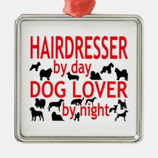 Hairdresser Dog Lover Christmas Tree Ornaments