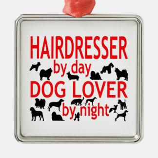 Hairdresser Dog Lover Christmas Tree Ornaments
