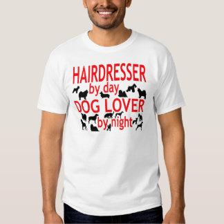 Hairdresser Dog Lover T Shirt