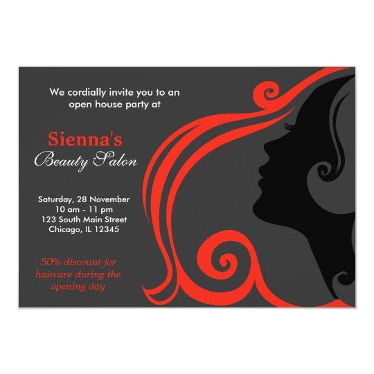 Hairdresser (firebrick) card