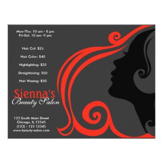 Hairdresser (firebrick) flyer
