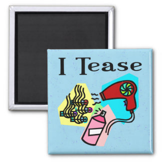 Hairdresser Gifts 2 Inch Square Magnet