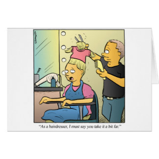 Hairdresser Greeting Cards