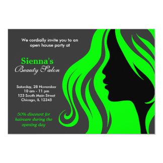 Hairdresser (Lime) Card