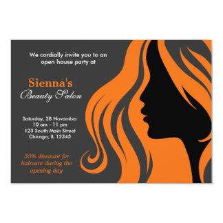 Hairdresser (Orange) Card