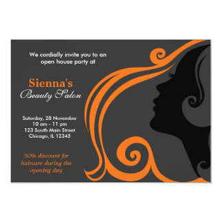 Hairdresser (Orange) Card