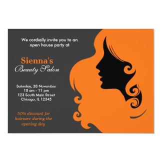 Hairdresser (Orange) Invite