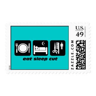 hairdresser postage stamps