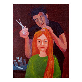 Hairdresser Poster