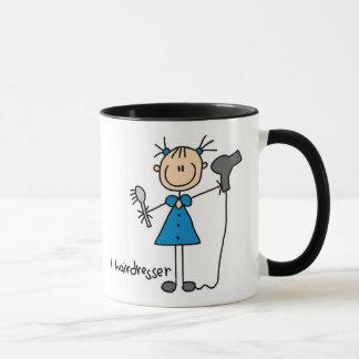 Hairdresser Stick Figure Mug